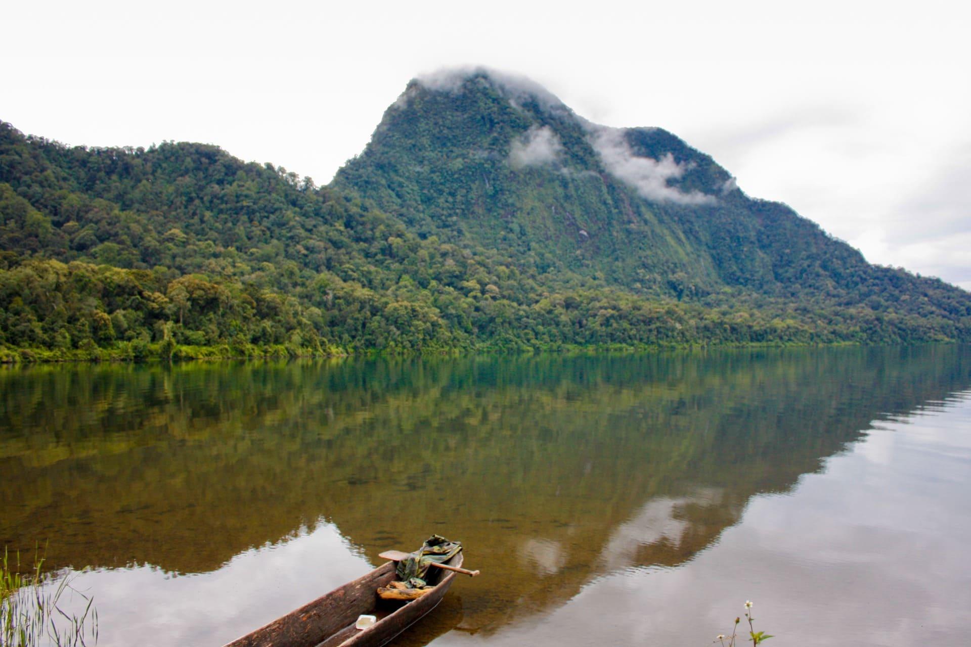 Pasir Putih, Mt. Tujuh Lake, Gunung Tujuh, Kerinci, Sumatra, Indonesia