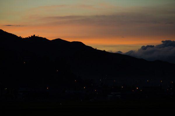 ecotourism Sumatra Indonesia sunset