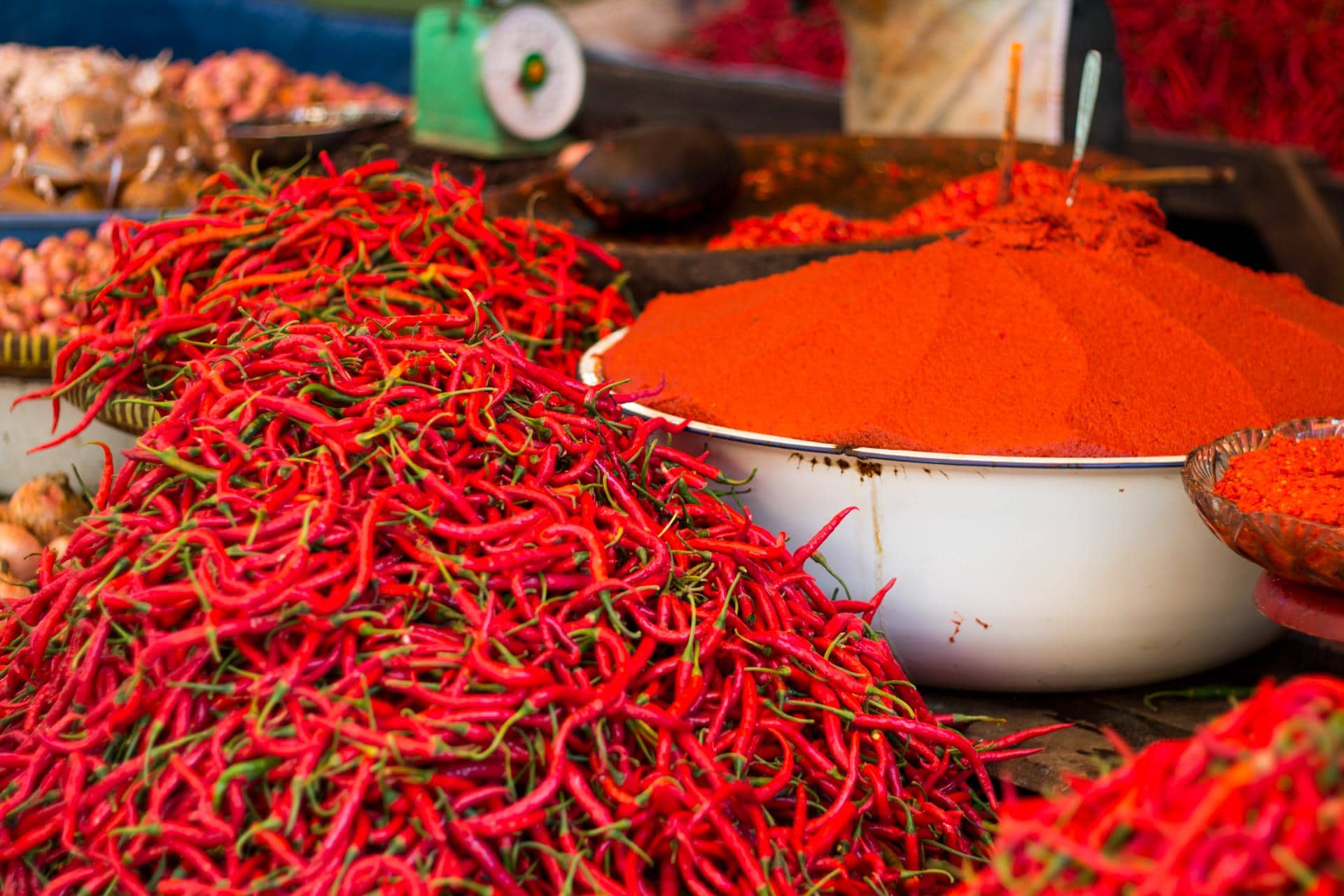 Hot peppers (cabe) and sambal are a Kerinci staple. Some of the spiciest food in Indonesia is found here.