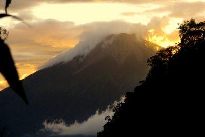 mt. kerinci gunung volcano indonesia ecotourism sumatra jungle trek indonesia